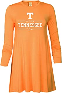 NCAA University of Tennessee Vols CU5FF03 Women's Long Sleeve Spandex T-Shirt Dress