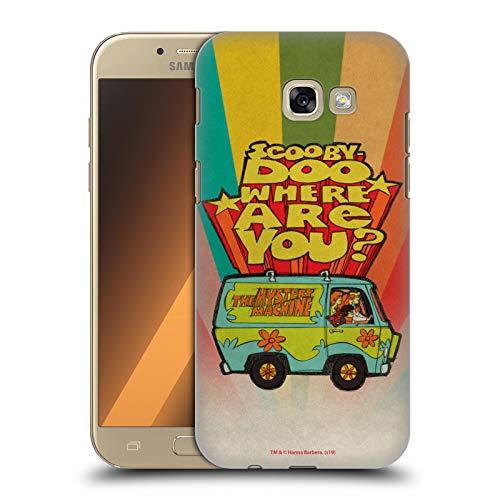 Head Case Designs Offizielle Scooby-DOO Wo bist du Vintage Harte Rueckseiten Huelle kompatibel mit Samsung Galaxy A5 (2017)