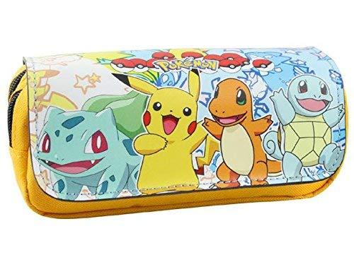 Estuche para lápices de Pokemon con dos compartimentos para niños Craze UK Starter