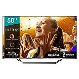 Hisense 50U7QF QLED 126cm (50 Zoll) Fernseher (4K ULED HDR Smart TV, HDR 10+, Dolby Vision & Atmos,...
