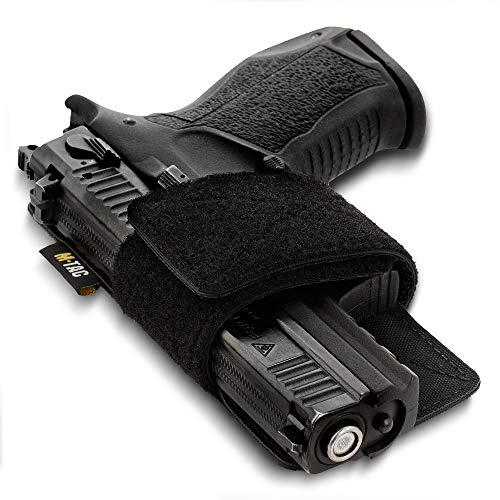 M-Tac Concealed Carry Holster - Gun Holster for Bag Backpack or Vest - CCW Holsters for Pistols (Black)