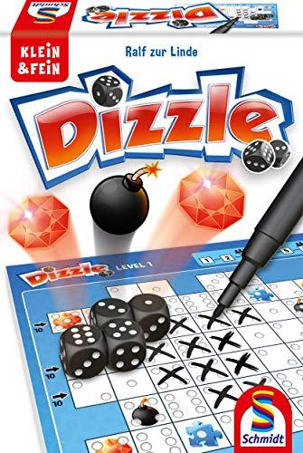 Schmidt Spiele 49352 Dizzle, Würfelspiel aus der Serie Klein & Fein, bunt