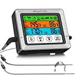 SMARTRO ST54 Dual Probe Digital Meat Thermometer for Food Cooking Kitchen Oven Smoker BBQ Grill with...