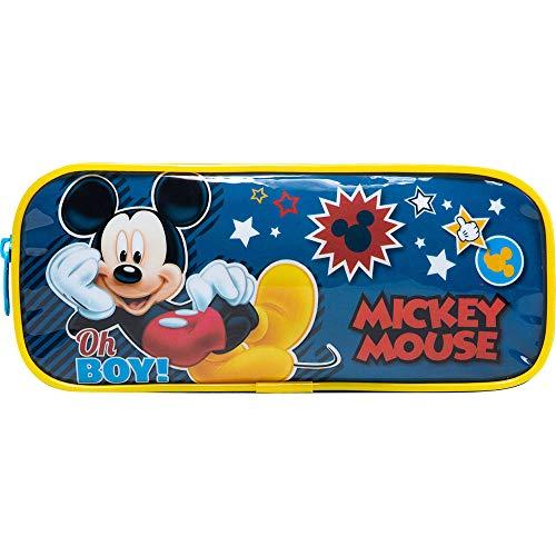 Estojo Simples Mickey X1-9306 - Artigo Escolar