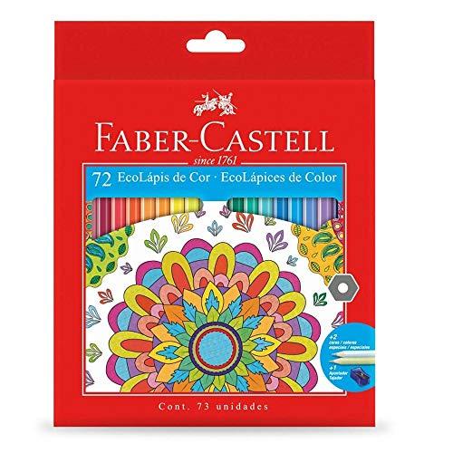 Lapis de cor, Faber-Castell,120172G; Ecolápis 72 cores