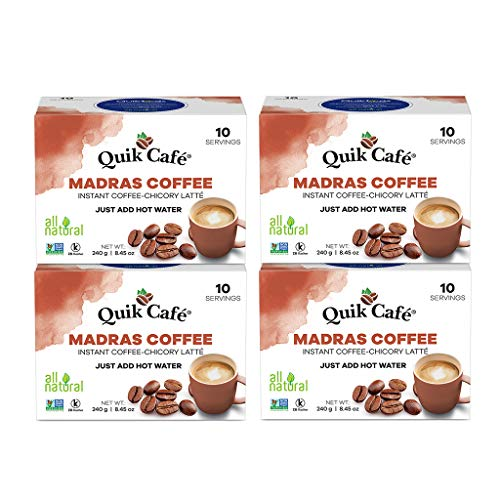 QuikCafe Madras Coffee,10 count,...