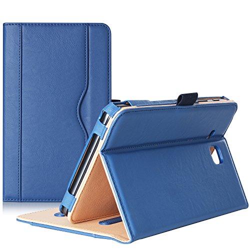 ProHülle Galaxy Tab A 7.0 2016 Hülle T280 T285, Standfunktion Folio Hülle Cover für Galaxy Tab A 7.0 SM-T280 SM-T285 Tablet, mit mehreren Betrachtungswinkeln, Dokumentenkartentasche (Marineblau)