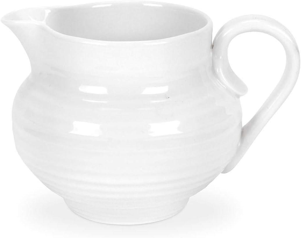 Portmeirion Sophie Conran White Creamer Sugar Bowl Creamers Amazon Com