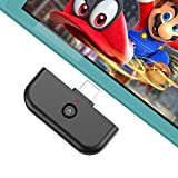JAMSWALL Bluetooth Adapter for Nintendo Switch & Lite 2019, Bluetooth Audio Transmitter with USB TypeC Port; Wirelessly Connect Device to Bluetooth Headset,Supports All Bluetooth Headphones