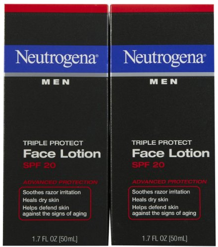 Triple Protect Face LotionSPF 20 17 oz 2 pk