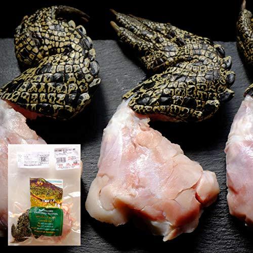 ワニ肉 ワニの手羽先 クロコダイルハンド クロコダイル爪 鰐肉 爪付き1本 約300-375g オーストラリア産 冷凍 バーベキュー ホームパーティー サプライズ インパクト インスタ映え グッズ ネタ オーストラリアの肉