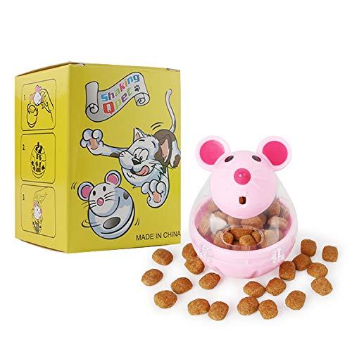 BSMTech Cat Toys Interactive Cat Toy,Pet Cat Dog Feeder Food Dispenser Treat...