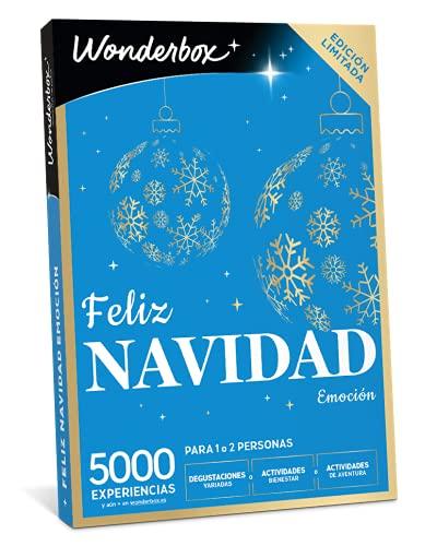 Wonderbox - Caja regalo - Feliz Navidad emoción