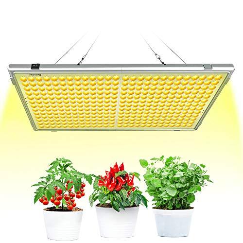 300W LED Gartenbau, Relassy Pflanzenlampe Kultivierungslampe mit 338 LEDs, LED Kultur Vollspektrum Wachstumslampe für Pflanzenblüte Innenwachstum
