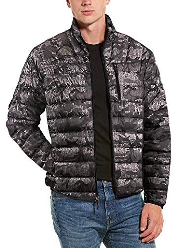 Hawke & Co Mens Packable Down Jacket, Army Camo 3XL