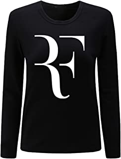 CIN-FAN Women's Tennis Player RF Shirt Long Sleeve