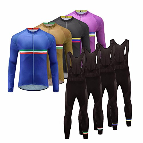 Uglyfrog 2017 Langärmelig Fahrradtrikot Bike Jersey + Lange Hosen atmungsaktiv Reiten Jacke Hose für Outdoor Radfahren CXHB16