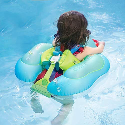 Shyneer Baby Zwembad Float, Opblaasbare Baby Zwemmen Ring Baby Float voor Zwembad met Handmatige Pomp Upgrade,XL,For 2 to 6 Years Old