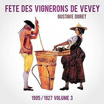 Fête des Vignerons de Vevey 1905 / 1927, Vol. 3