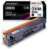 LEMERO Toner Kompatibel für HP CF410A Toner 410A Toner für HP Color Laserjet Pro MFP M477FDW M477FDN M477FNW M452DN M452DW M452NW M377DW Drucker,Schwarz