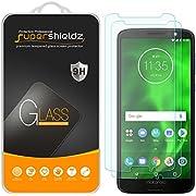 [2er Pack] Supershieldz für Motorola Moto G6gehärtetem Glas Displayschutzfolie, Kratzfest, blasenfrei, lebenslange Umtausch-Garantie