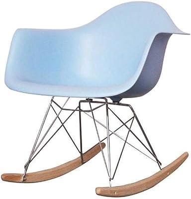 Post Mecedora - Plástico Retro Mecedora Asiento de jardín Silla sillas Silla de salón Jardín Patio, 40x68x70cm: Amazon.es: Hogar