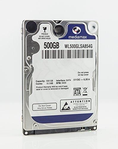MediaMax 500GB 2.5