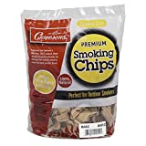 Smoking Chips - (Bourbon Soaked Oak) - 260 cu. in. (0.004m³) - Kiln Dried, 100% Natural Coarse Wood Smoker Shavings - 2lb Barbecue Chips