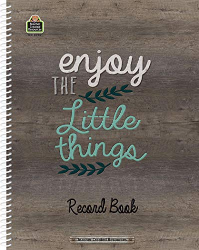 Enjoy the little things Record Book