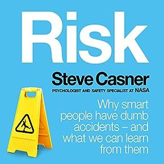 Risk audiobook cover art
