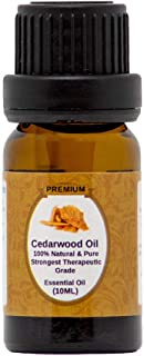 Cedarwood Essential Oil | 10ml | 100% Pure, Natural & Organic | Texas Cedar Oil | Undiluted | Perfect for Relaxation | Aro...