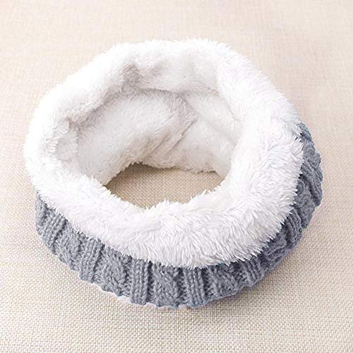 DSHRTY Bufanda 2019 Nueva Bufanda de Moda para niños Bufanda de Invierno para bebé Bufanda de Marca para niños Cálido Niño Niña Cuello de Punto Venta al por Mayor/al por Menor, G, China
