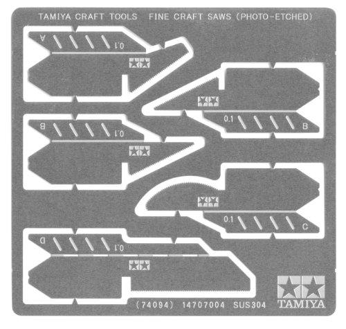 Tamiya - 74094 - Accessoire pour Maquette - Scie Fine en Photo Découpe