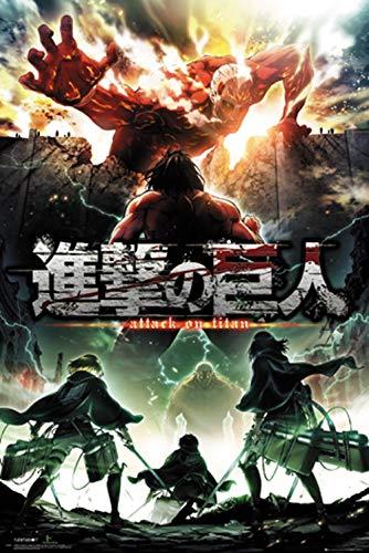 Attack on Titan - Season 2 Poster-11x17inch,28x43cm