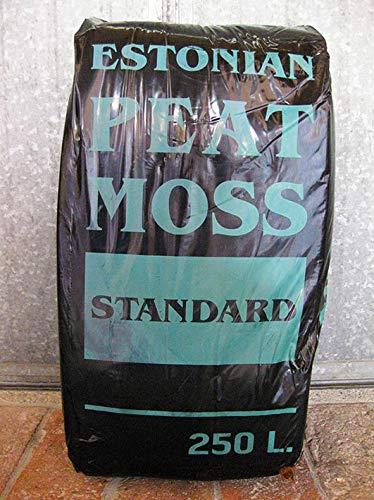 Geosism & Nature Torba (bionda) acida di sfagno (Estonian Peat Moss) (c.ca 40 kg - 250 lt)