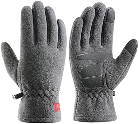 Warm gloves for men and women winter cold protection plus velvet thickening outdoor sports driving touch screen cycling gloves
