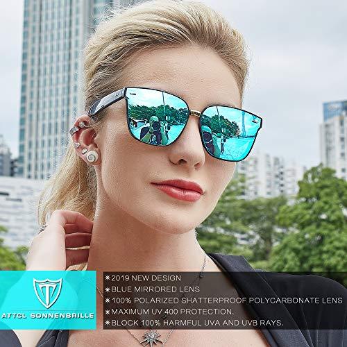 ATTCL Unisex Polarizzate Occhiali da sole da uomo