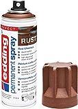 edding 5200 - Spray permanent - effet rouille mat - 200 ml - peinture acrylique à pulvériser pour peindre et décorer presque toutes les surfaces