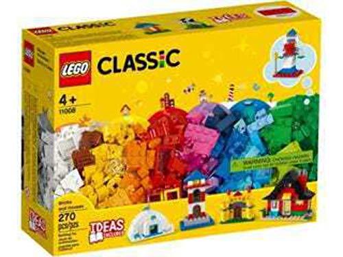 LEGO Classic MattoncinieCase, Set da Costruzione,Giocattoli per Bambinidai 4 Anni in poi con 6 Modelli Facili da Costruire, 11008