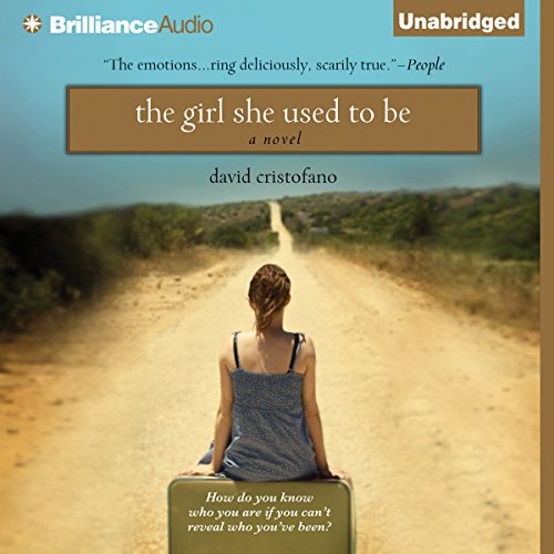 The Girl She Used to Be audiobook cover art