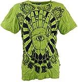 GURU-SHOP, Camiseta Sure T-Shirt Magic Eye, Limón, Algodón, Tamaño:M, Camisetas Seguras