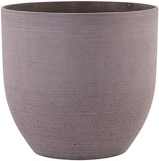 مزهرية حجر الرمل دائرية بني من ليتل جرين هاوس - XL