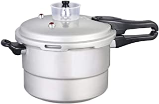 Pressure Cooker Aluminum Slow Cooker Soup Pot Large Capacity 4L/5L/10L With Anti-blocking Sensor Base For Home And Kitchen for all Hobs (Color : White, Size : 10L)