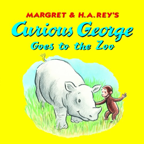Curious George Goes to the Zoo 8x8 (English Edition)