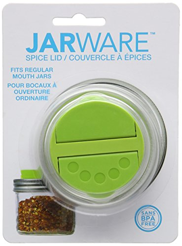 Jarware Space Lid Spice Spoon, Green