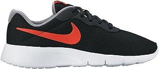 Nike Boys Tanjun Shoe Black/Max Orange/Cool Grey/White Size 6 M