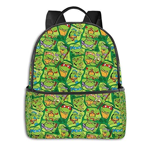 Teenage Mutant Ninja Turtles Backpack for Men Durable Water Resistant College School Backpack Laptop Bag for Women Computer and Notebook Black