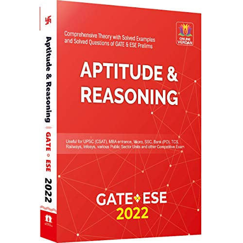 Aptitude & Reasoning for GATE and ESE