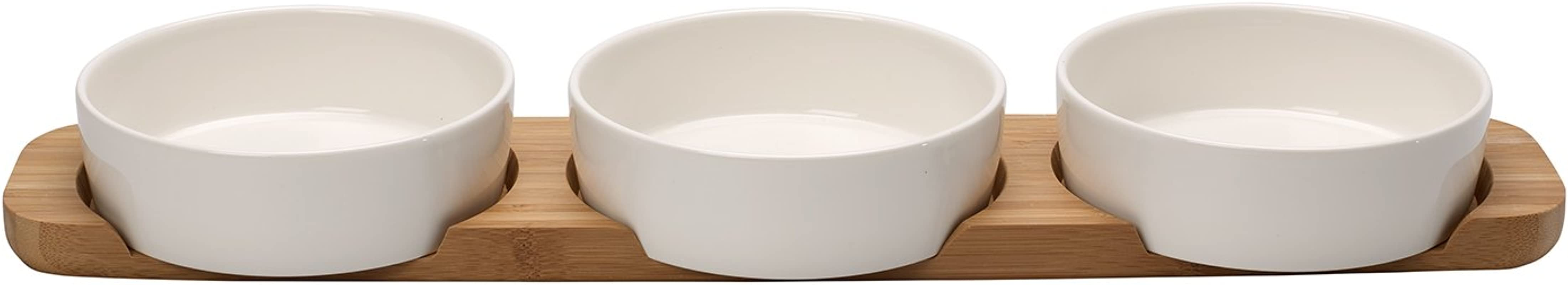 Pizza Passion 4 Piece Topping Bowl Set By Villeroy Boch Premium Porcelain Made In Germany Dishwasher And Microwave Safe Bowls 18 75 X 4 25 X 2 Inches