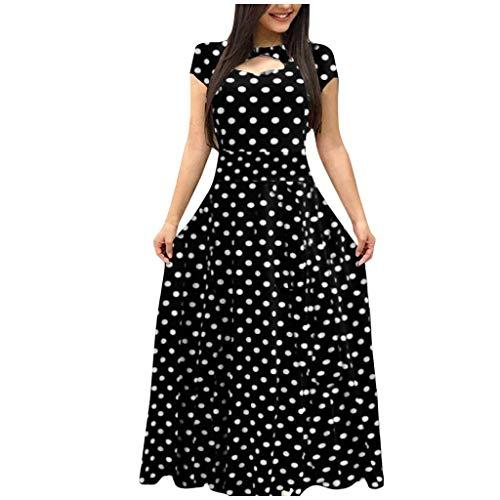 Vintage Kleid Sommer Damen Bohemian Elegante Schöne Petticoat Festliches Vokuhila Party Abend Tunika A Linien Sexy Langes Casual Lockeres Kleider Sommerkleid Strandkleider
